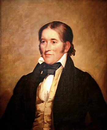 Davy Crockett an American Folk hero