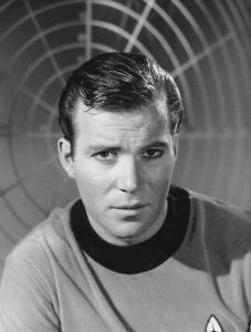 Captain Kirk from the TV series Star Trek